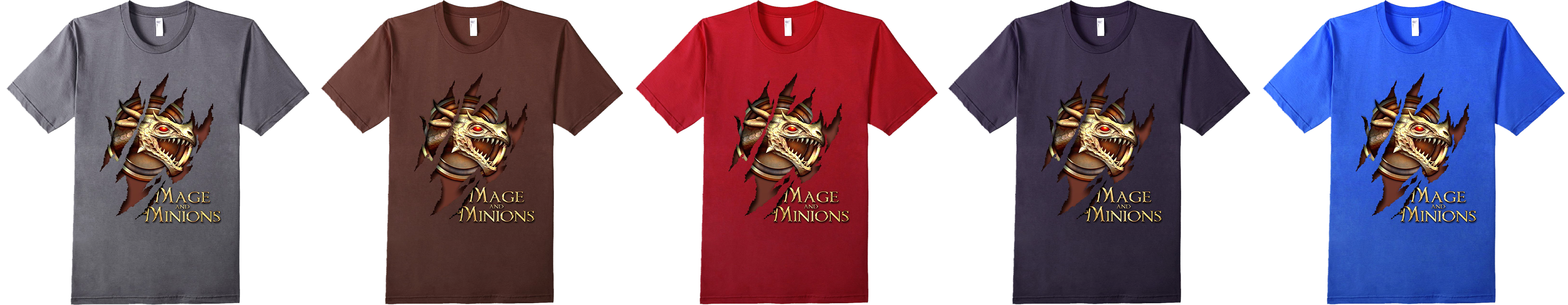 Mage and Minions slim t-shirt